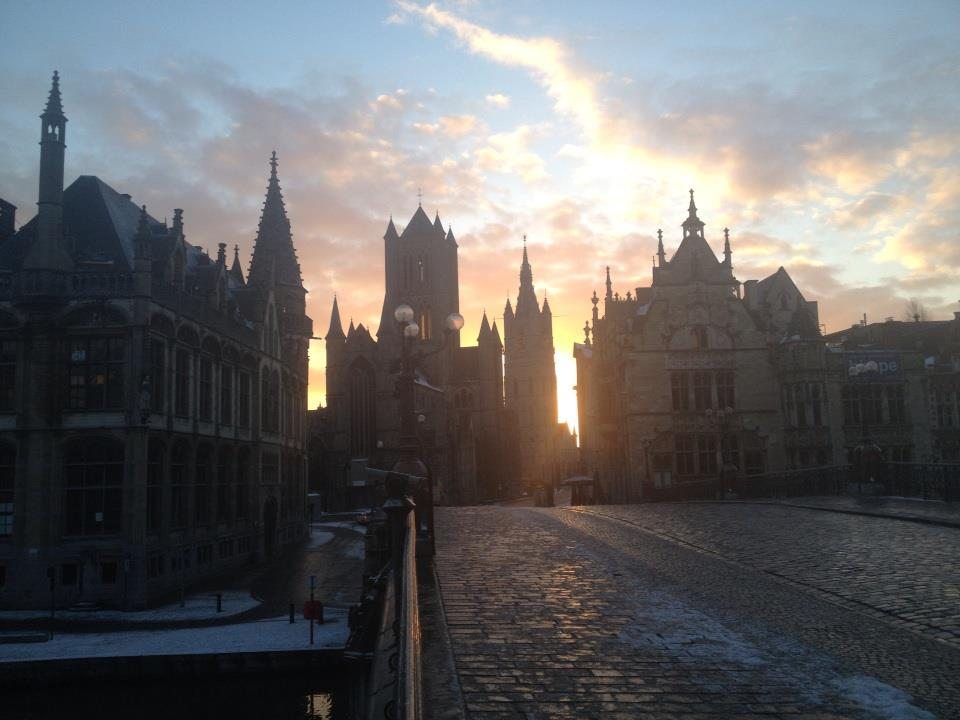 Ghent Sunrise